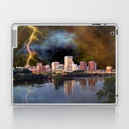 Stormy Richmond Skyline Laptop & iPad Skin