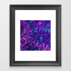Purple Jungle Framed Art Print