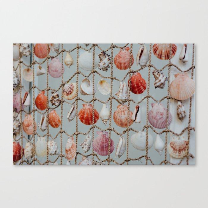 She Sells Seashells Canvas Print