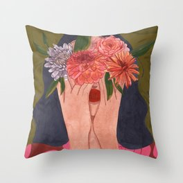 This Feeling of Mine Throw Pillow