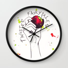Twisted Fairy-tales - Poison Apple Wall Clock