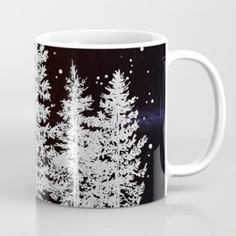 Trees in a Winter Forest Coffee Mug