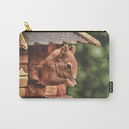 Foraging Squirrel in Little House Carry-All Pouch
