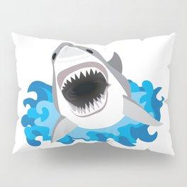 Shark Attack #2 Pillow Sham