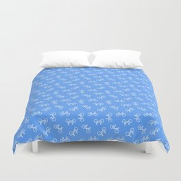 When in Doubt, Pedal it Out Duvet Cover