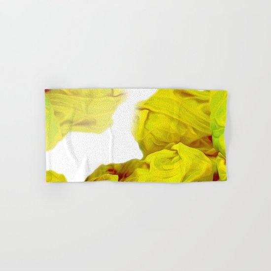 Yellow Ink Hand & Bath Towel