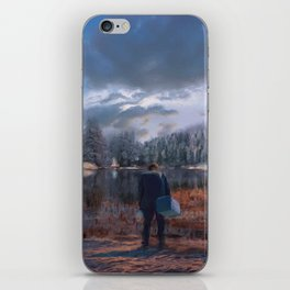 The coming of the dawn iPhone Skin