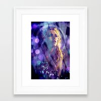 bad wolf Framed Art Prints featuring Bad Wolf by Sirenphotos