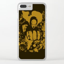 The Yellow Straight Clear iPhone Case