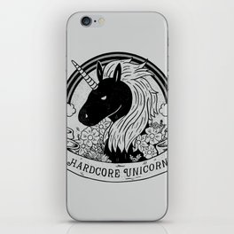 Hardcore Unicorn iPhone Skin