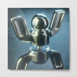 Busted Bolt Metal Print