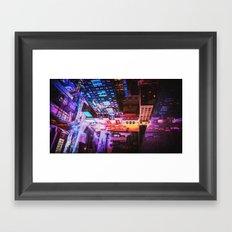 New York City Blade Runner Framed Art Print