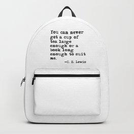 Tea and books Backpack