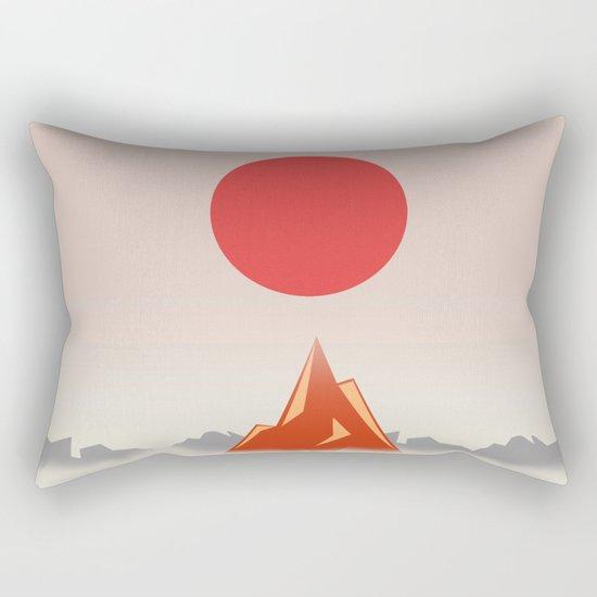 Himalayan zen Rectangular Pillow