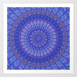 Taino Mandala Art Print