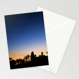 Sunset Moon Stationery Cards
