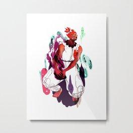 akuma Metal Print