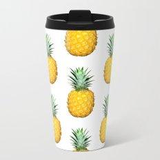 Big Pineapples Metal Travel Mug