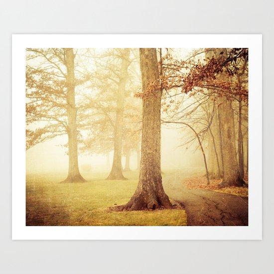 I Heard Whispering in the Woods Art Print