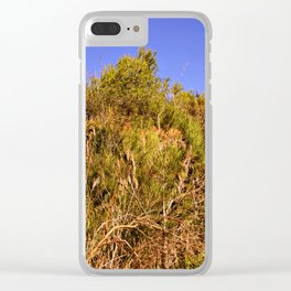 Hot summer landscape Clear iPhone Case