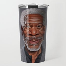 Celebrity Sunday ~ Morgan Freeman Travel Mug