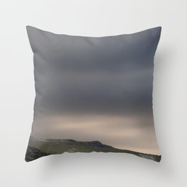 High pastures II Throw Pillow