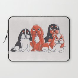 Cavalier King Charles Spaniels Laptop Sleeve
