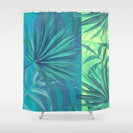 soft tropic Shower Curtain