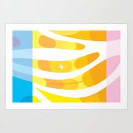 California Sea Breeze Art Print