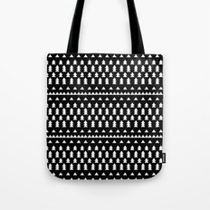 Triangles & Trees Tote Bag