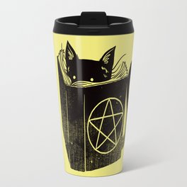 Witchcraft Cat Travel Mug
