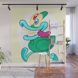 Nutso The Dipwad Duck Wall Mural