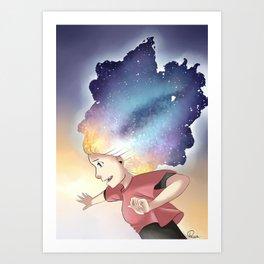 Secrets of the universe Artwork Art Print