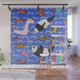 Summer Fun Wall Mural