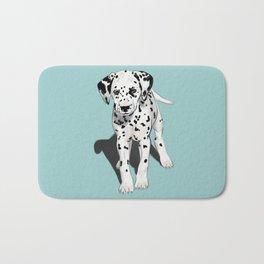 Dalmatian Puppy Bath Mat