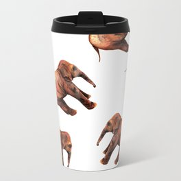 Baby Elephant Metal Travel Mug