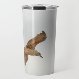 Seagull bird flying Travel Mug