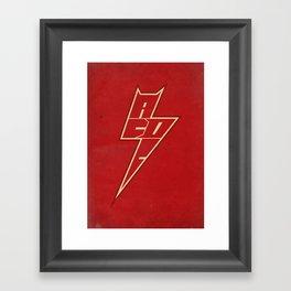 AC/DC ARROW Framed Art Print