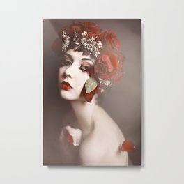 Roses Can't Stay Red Forever Metal Print