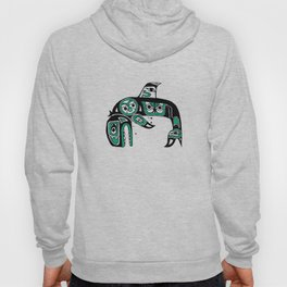 Native American Orca Hoody