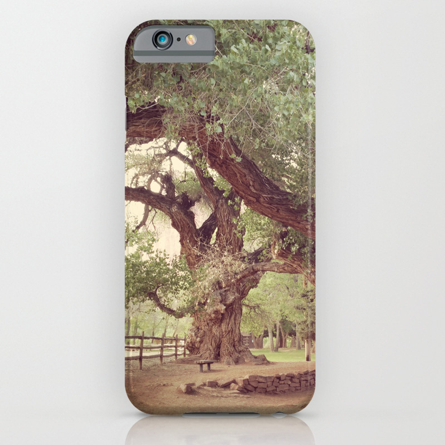 Mighty Cottonwood Trees Iphone Case By Thedancingwind Society6