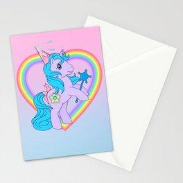 g1 my little pony princess sparkle Stationery Cards
