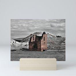 Berry No. 1 Mine Pump House Mini Art Print