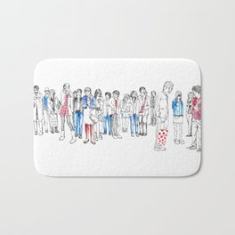 In Moments of Waiting Bath Mat