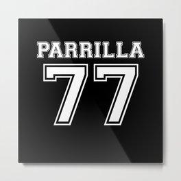 Parrilla 77 Metal Print