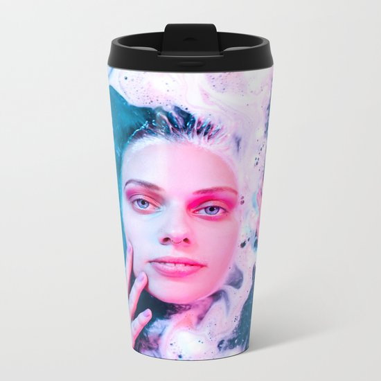 She Comes from the Sea Metal Travel Mug