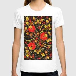 Russian khokhloma T-shirt