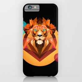 Lion king of the jungles iPhone Case
