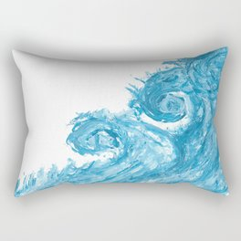 Le onde Rectangular Pillow