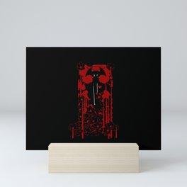 Devilman Crybaby Red v1 Mini Art Print
